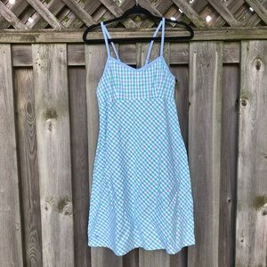 Lilly Pulitzer Blue Checkered Dress